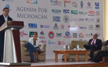 La agenda común de todos debe ser Michoacán, destaca Silvano