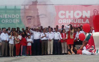 Cierra Chon Orihuela campaña en Morelia rodeado de grandes liderazgos nacionales