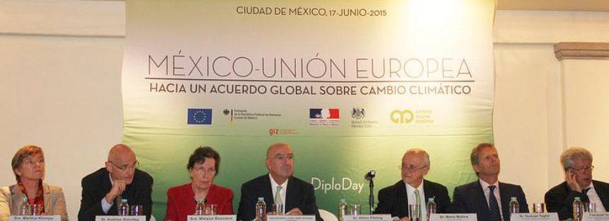 Aliados México y la Unión Europea en el combate al cambio climático