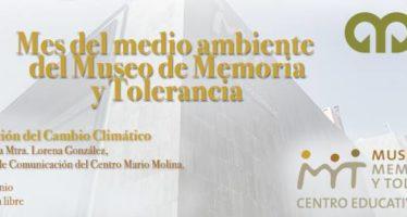 Comunicación del Cambio Climático en Museo Memoria y Tolerancia del DF