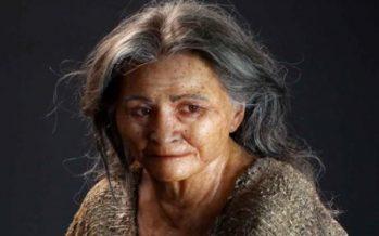 Revelan rostro de mujer de la Era de Hielo *