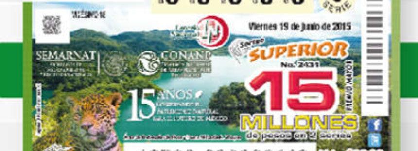 La CONANP cumple 15 años de trabajar por la conservación de áreas naturales protegidas de México