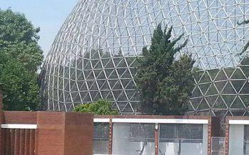 """""""La esfera de los cantos"""" hoy abandonada y sin vida"""