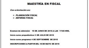 El 18 de junio vence plazo para ingresar a la Maestría en Fiscal en la FCCA de la Universidad Michoacana