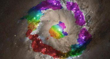 Una báscula para un agujero negro de 140 millones de masas solares