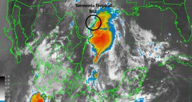 """Aviso de Ciclón Tropical en el Atlántico: SÍNTESIS: TORMENTA TROPICAL """"BILL"""" EN EL NOROESTE DEL GOLFO DE MÉXICO"""