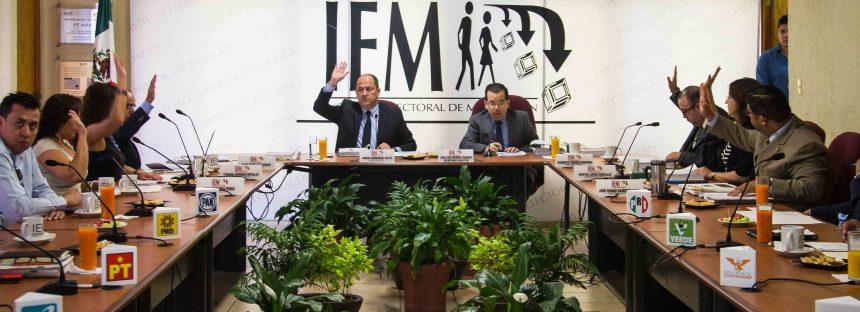 Rinden informes las comisiones de trabajo del IEM durante el proceso electoral