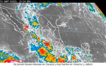 Onda Tropical Número 18 originará lluvias fuertes en Nayarit, Colima, Jalisco y Michoacán