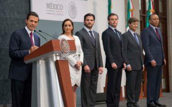 El presidente Enrique Peña Nieto hace ajustes a su gabinete