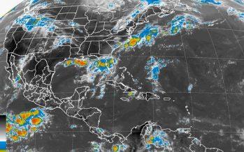 Chiapas y Veracruz bajo el agua… lluvia fuerte este día