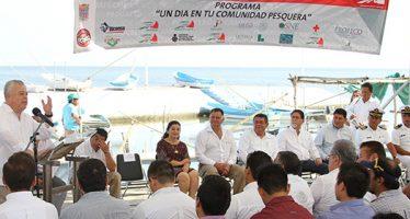 Con una inversión de 17 MDP se moderniza flota pesquera de Campeche