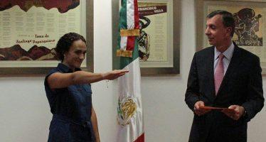 Toma protesta Talía Coria Mendoza como delegada federal de la PROFEPA en el estado de Michoacán
