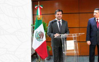 Rafael Pacchiano Alamán llega a la Secretaría de Medio Ambiente y Recursos Naturales de México