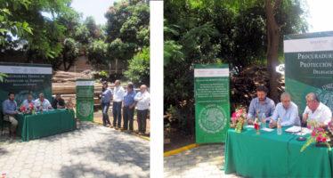 Dona PROFEPA productos forestales para actividades de reforestación y restauración