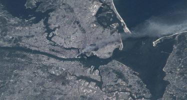 Los ataques del 11-S fueron visibles desde el espacio