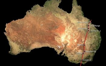 Hallan en Australia la mayor cadena volcánica continental del mundo