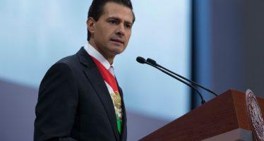 El presidente Enrique Peña Nieto anuncia diez medidas para enfrentar los desafíos del país en la segunda mitad de su gobierno