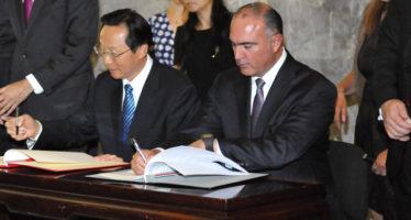 Firman acuerdo de cooperatividad en materia de producción agroalimentaria entre México y China