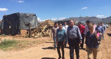 Inician recorridos por zonas afectadas por lluvias en Chihuahua