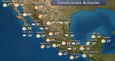Se prevé lluvia torrencial en San Luis Potosí, Hidalgo y Veracruz en las próximas horas