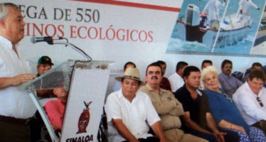 Gobierno Federal y de Sinaloa invierten 55 millones de pesos en equipo para pescadores
