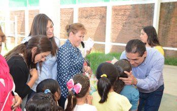 Gobernador Silvano Aureoles visita los espacios de asistencia a la infancia del DIF Michoacán