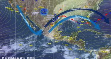 Prevén lluvias intensas en San Luis Potosí, Querétaro, Hidalgo y Veracruz