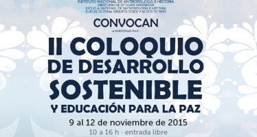 II Coloquio de Desarrollo Sostenible y Educación para la Paz