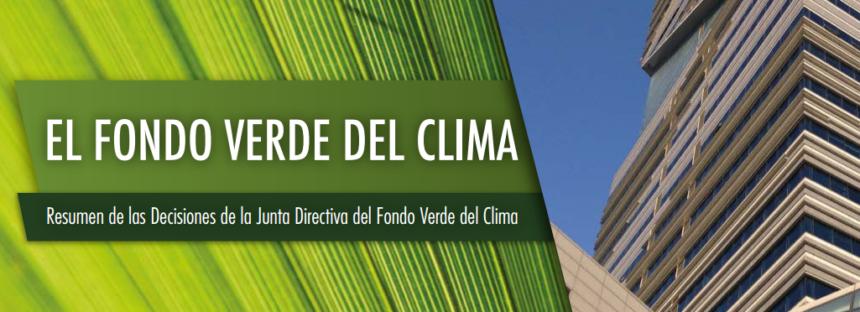 El Fondo Verde del Clima
