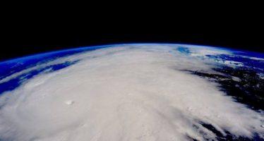 Fotografía de Patricia desde el espacio