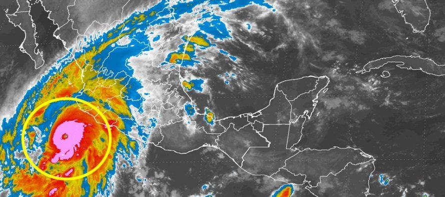 Ciclón tropical en el Pacífico