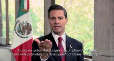 México se suma a fijar precio al carbono