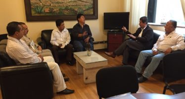 Secretario de Desarrollo Rural y Agroalimentario analiza necesidades de este sector