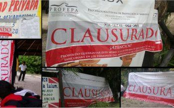 Clausuran proyectos turísticos ilícitos, en Tulum