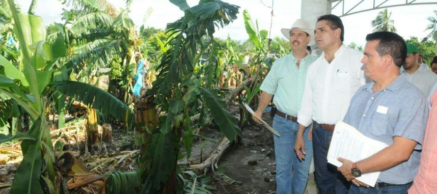 Apoyan a afectados por huracán Patricia; se potenciará desarrollo de la Sierra-Costa sostiene Silvano Aureoles