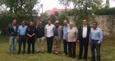 Miguel Ángel Osorio Chong y el gobernador formalizan Mando Único Policial