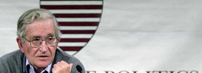 Estados Unidos es el creador del Estado Islámico: Noam Chomsky