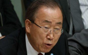 """""""Debemos ir más lejos y más rápido"""" contra el cambio climático: Ban Ki moon"""