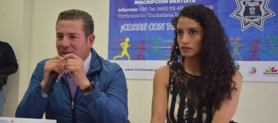 """Carrera atlética """"Corre con tu Policía 2015"""""""