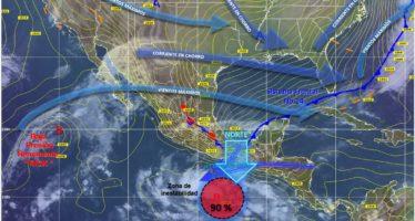 Pronostican lluvias y descenso de temperatura en gran parte del país