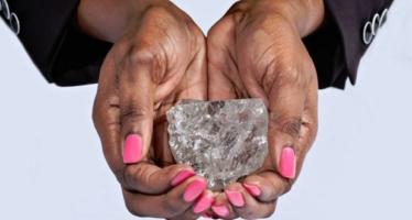 Hallan en Botsuana el segundo diamante más grande