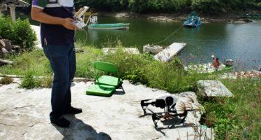 Utilización de drones para el control de cultivos acuícolas