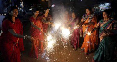 El festival Diwali dispara la contaminación en Nueva Delhi
