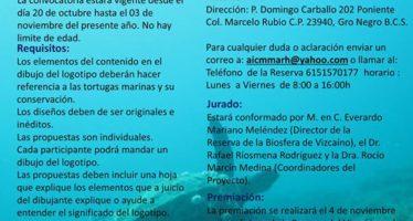 Convocatoria: Concurso de diseño del logotipo de monitoreo de tortugas de la Laguna Ojo de Liebre