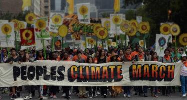 ONGs convocan a marcha en defensa del clima, previo a la COP-21; en México irán al Senado