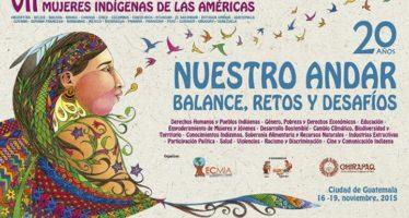 VII Encuentro Continental de Mujeres Indígenas de las Américas