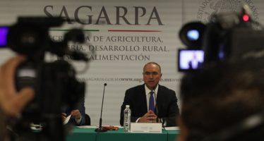 Confirman más de 84 mil millones de pesos para presupuesto 2016 de sector agroalimentario