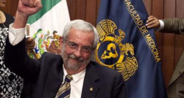 """Enrique Luis Graue perpetúa al grupo de """"los médicos"""" en la rectoría de la UNAM"""