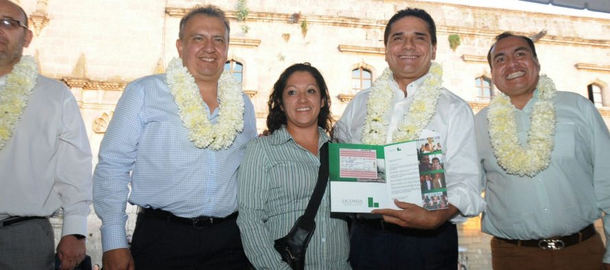 Impulso a programa Liconsa, en Michoacán