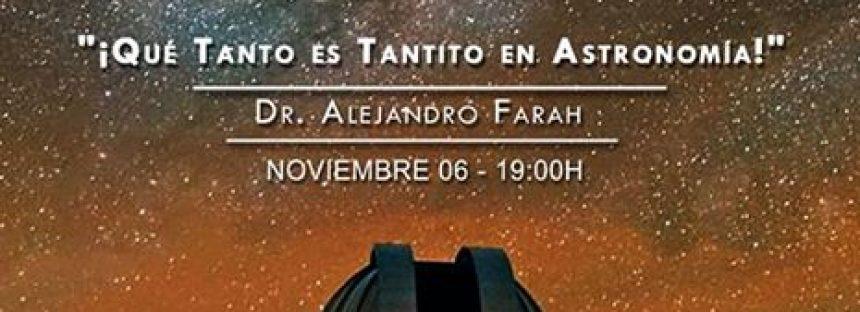 """Ciclo de conferencias """"El Universo los Viernes"""""""